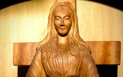 The Blessed Virgin Mary appeared to a religious sister in Akita, Japan and warned of punishment unless people repent.