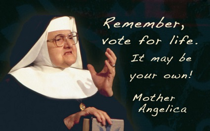 Mother Angelica is the foundress of the Eternal Word Television Network (EWTN): Global Catholic Network.