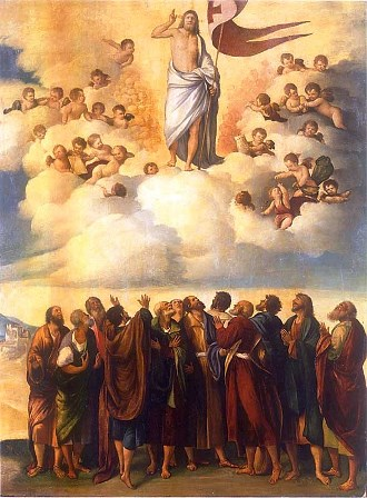 After Jesus ascended into Heaven, His apostles waited nine days for the promise of the Holy Spirit.