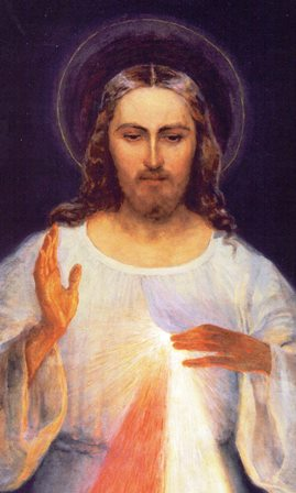 Our Lord appeared to Saint Faustina and asked for an image to be created representing His Merciful Love.