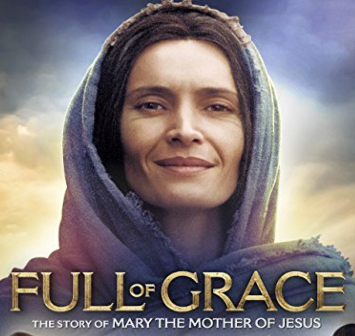 The Middle Eastern actress who plays Mary the Mother of Jesus is featured in the movie, Full of Grace.