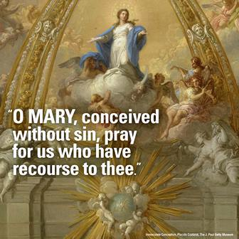 The Immaculate Conception of Mary, honored as the New Ark of the New Covenant, is celebrated every year on December 8 by the Holy Roman Catholic Church.