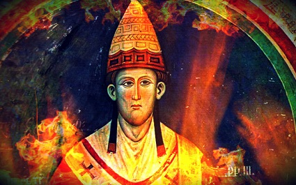 Pope Innocent III was a medieval pope who gave a personal testimony of Purgatory.