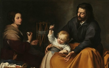 Saint Joseph is the model for all men on how to be strong husbands and fathers.