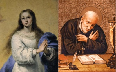 Saint Alphonsus Liguori had a great devotion to the Blessed Virgin Mary, and he wrote many beautiful prayers invoking her intercession.