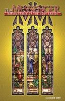 The front cover of The Messenger, Summer 2007 issue, features the restored Visitation of Mary to Elizabeth stained glass window in Saint Wenceslaus Church in Saint Louis, Missouri.