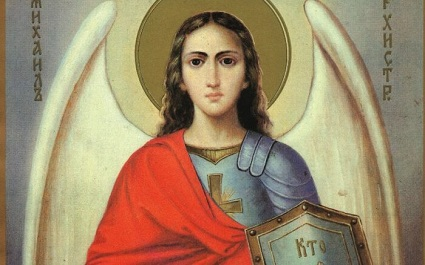 Saint Michael the Archangel is the prince of the heavenly host who cast Lucifer out of Heaven.
