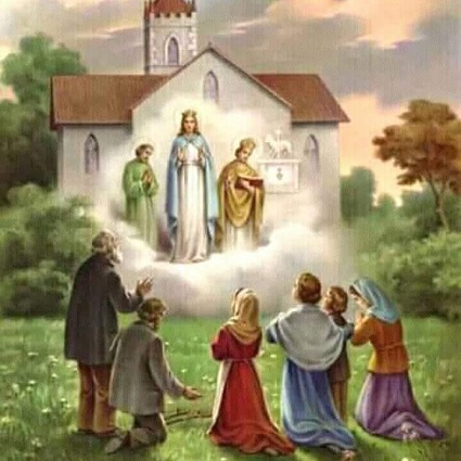 Our Blessed Mother appeared to 15 eyewitnesses at the Church of Knock in Ireland in 1879.