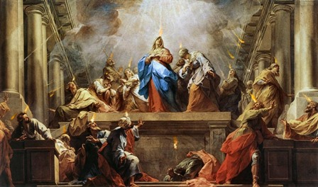 When Jesus Christ sent the Holy Spirit from Heaven, the Holy Spirit appeared as tongues of fire.