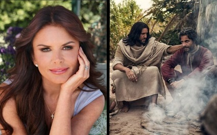 Roma Downey is the producer of the new Easter 2021 film called Resurrection.