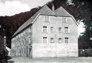 Foundation House, the first seminary of the Missionaries of the Holy Family.